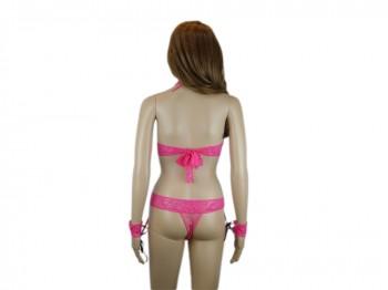 Pinkes Dessous Set