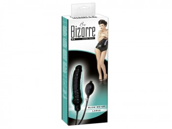 Latex Aufpump Dildo - BeBizarre Blow Me Up Large