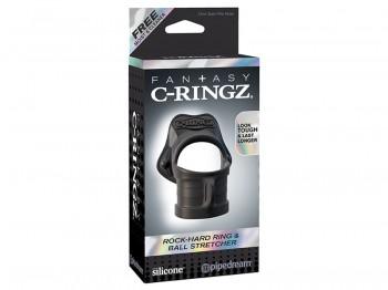 Fantasy C-Ringz Rock Hard Ring & Ball-Stretcher