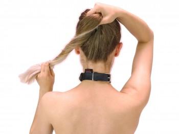 Dezentes BDSM Halsband mit Ring der O