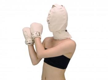 Maske highly safe + Fist Mitts im Set