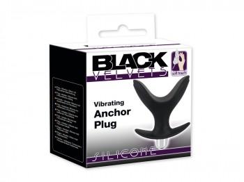 Black Velvets Vibrating Anchor Plug