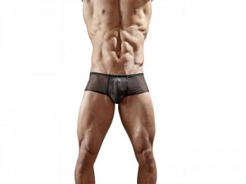Schwarze Minipants mit Push-Up-Effekt Gr. M