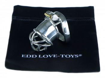 EDD Forgo V2 Solid klein Peniskäfig aus 304 Edelstahl