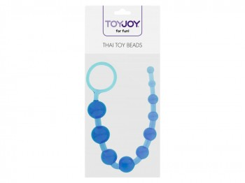 Thai Toy Beads Analstrang blau 30cm