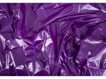 Lack Bettlaken lila 200 x 230 cm