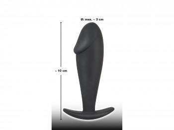 Black Velvets Analplug mit Eichel