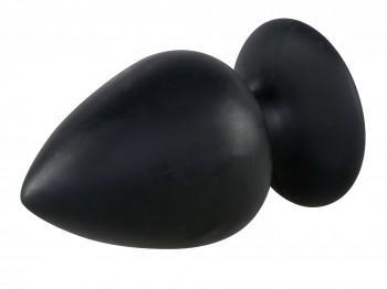 Black Velvets Butt Plug Extra Large 14 cm