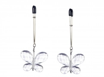 Bad Kitty Butterfly Clamps