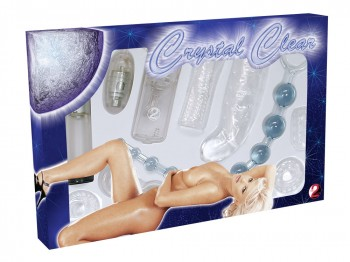 Crystal Clear 9-teiliges Toy Set