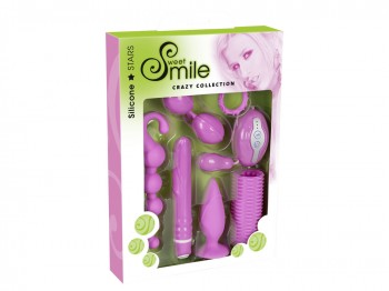 Sweet Smile Crazy Collection 7tlg. pink