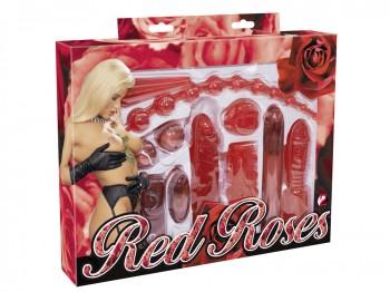Red Roses Set 9-teiliges Toy Set