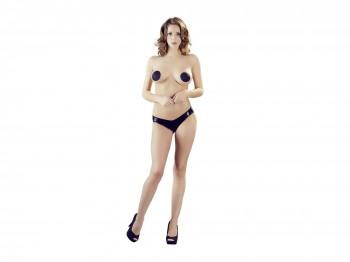 Schwarze Wetlook Panties Gr. S, M, L und XL