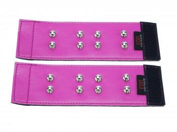 Cuffliner für Handschellen pink Gr. S