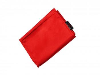 Breite Double-Layer premium Satin Augenbinde Rot