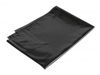 PVC Orgy Kissenbezug schwarz 71 x 77 cm