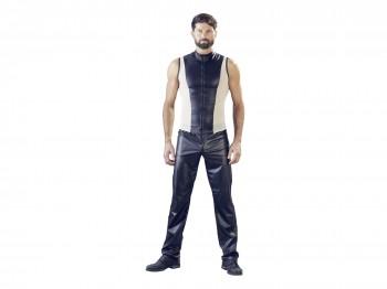 Herren Shirt schwarz/nude Gr. L
