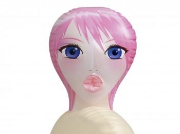 Liebespuppe Dishy Dyanne mit Manga-Gesicht