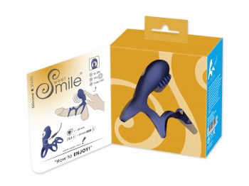 Sweet Smile Rechargeable Couples Sleeve