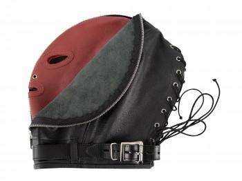 Zado Leder-Doppelmaske