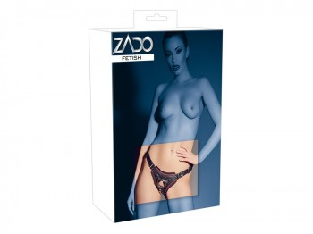 Zado Jock Strap-On aus Leder