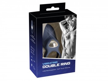 You2Toys Vibrating double Ring 11 cm