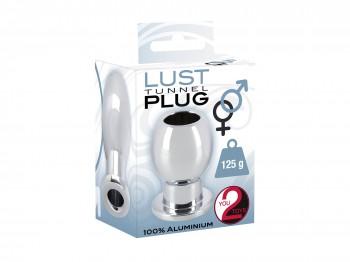 Lust Tunnel Plug Aluminium Hohler Analplug 6cm