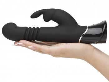 Greedy Girl Thrusting G-Spot Rabbit Vibrator