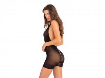 René Rofé Hot Short Zip Catsuit schwarz Gr. S/M und M/L
