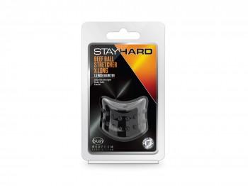 Stay Hard Beef Ball Stretcher X Long schwarz 38 mm