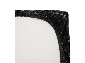 Fetisch Collection Lack Spannbettlaken schwarz 220 x 220 cm