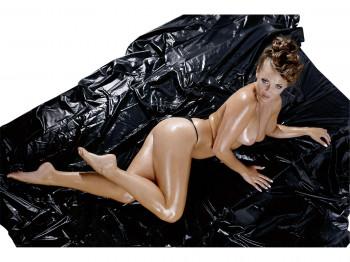Fetisch Collection Lack-Laken soft schwarz 200 x 230 cm