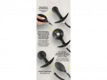You2Toys Inflatable Plug Analplug mit Pumpball 8cm