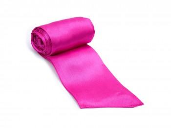 Premium Satin Bondage-Schal Pink
