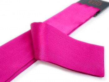 Premium Satin BDSM Augenbinde Pink
