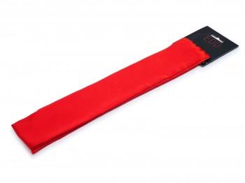 Premium Satin Bondage-Schal Rot