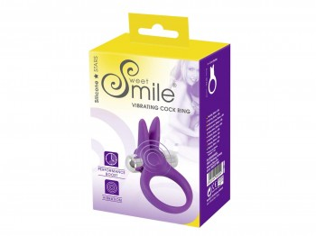 Sweet Smile Vibrating Cock Ring