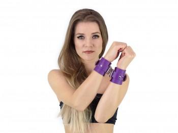 Premium Bondage Handfesseln Lila