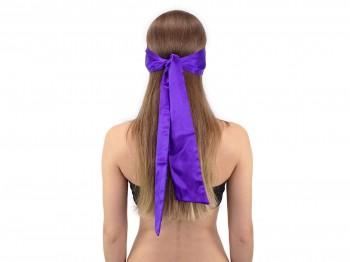 Premium Satin BDSM Augenbinde Violett
