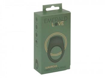 Emerald Love Luxurious Vibro Cock Ring
