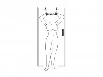 Easytoys Türfesseln - Over the Door Wrist Cuffs