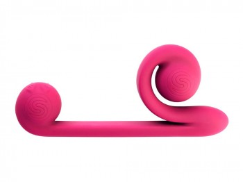 Duo-Vibrator Snail Vibe pink 24 cm