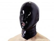Latex-Kopfmaske mit Erektionsring