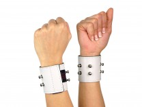 Cuffliner für Handschellen weiß