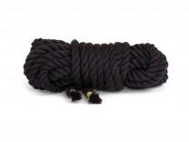 5m Twisted Rope Bondageseil schwarz