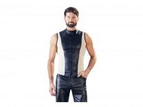 Herren Shirt schwarz/nude Gr. S, M, L und XL