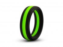 Performance Silikon Go Pro schwarz/grün Cock Ring