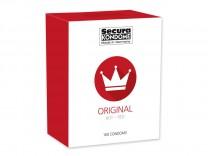 100er Packung Secura Red rote Kondome