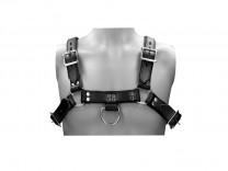 Pain Männer Brustharness Leder