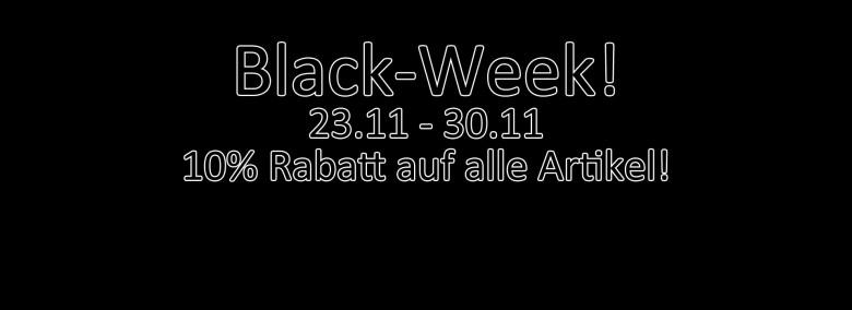 BLACK WEEK SALE!